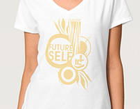Future Self Flaunt Fashion Show t-shirt