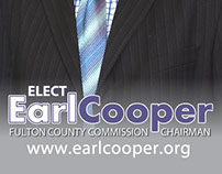 Earl Cooper Campaign Promo Card 2014