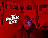 Poster for film 'The Public Eye'