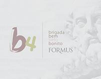 identidade visual B4 Formus