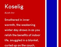 Scandinavia - Typography image campaign