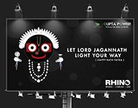 Rath Yatra Campaign For Rhino