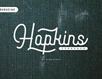 Hopkins Monoline Script Typeface