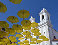 Umbrella Sky - Alfama, Lisboa