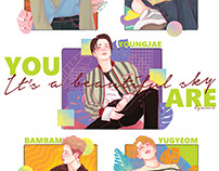 "GOT7 ""You Are"" fanart"