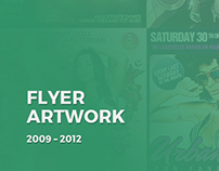 Flyer Artwork 2009-2012