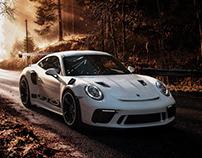 Porsche 911 GT3 RS 2019 CGI | Retouching