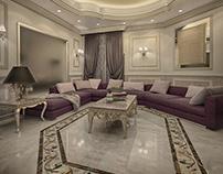 Semi classic living room