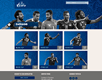EasyTrav's World Cup 2018 Website