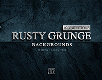 20 Rusty Grunge Backgrounds