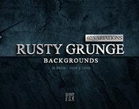 20 Rusty Grunge Backgrounds