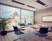Дизайн офиса и офисных перегородок