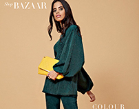Harpers Bazaar October 2015-Colour Theory