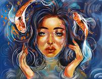 Digital watercolour artwork