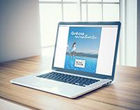 """E-book e posts """"Grécia encantadora"""" da Mundo Color"""