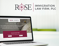 Immigration Law Firm Brand Identity and Website