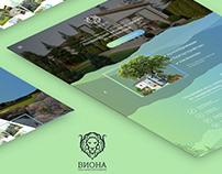 Responsive landing page VIONA - Landscape Design