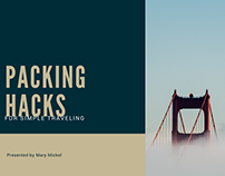 Packing Hacks For Simple Traveling