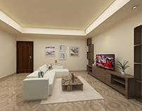 Family Room - Modern Natural Oriental Design