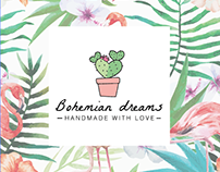 Bohemian Dreams 🌵 Logo