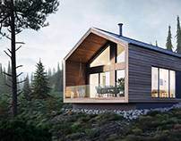 Tiny cabin in Norway