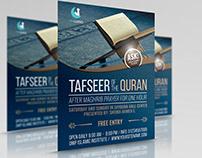 Islamic Flyer Template Vol.3