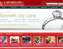 A Gift Idea Website
