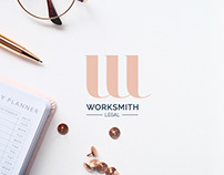 Worksmith Legal | Logo and stationery design