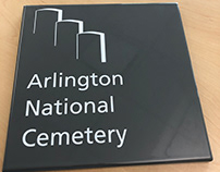 Arlington National Cemetery Symbol for NPS Wayfinding