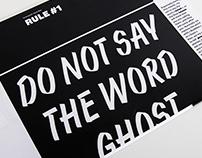 Ghost month / Specimen