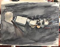 symphony watercolor