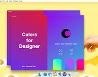 Colors Mac App