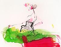 Haute Couture Fashion Illustration