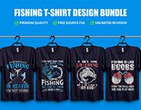Best Fishing T-Shirt Design Bundle