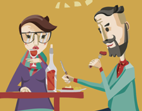 Alcohol customer segments characters