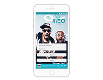 Redesign APP - MEO MUSIC