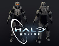 Hard-Surface 3D-Models for Halo (Apr 2013 - Jan 2014)