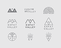 Expat Valley Logo and Illustrations