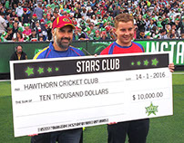 Melbourne Stars Club Award