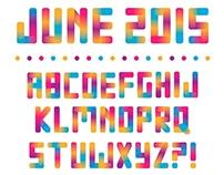 Colorful Bright Alphabet