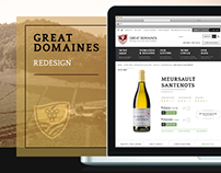 Great Domaines Website