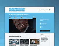 Fronteiras XXI - website webdesign
