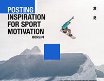 Inspiration for sport motivation