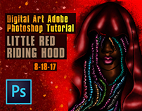 Little Red Riding Hood Photoshop Tutorial
