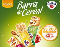 Barras de Cereal Gloria