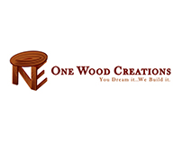 One Wood Creations Logo and Banner