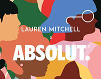 Lauren Mitchell x Absolut Vodka