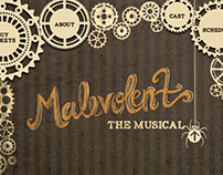 Malevolent the Musical Website Design and Coding