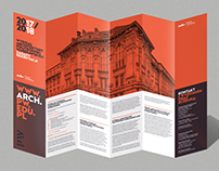 Faculty of Architecture - recruitment leaflet 2017