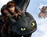 Magic Camera / How to Train your Dragon